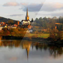 Sun on Ross – Ross–on–Wye, Herefordshire, England