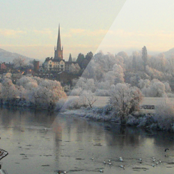 Wintery Ross – Ross–on–Wye, Herefordshire, England