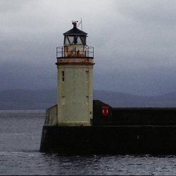 Lighthouse at the Crinan Canal – Ardrishaig, Argyll, Scotland